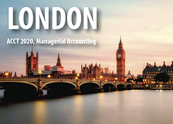 London, ACCT 2020, Managerial Accounting